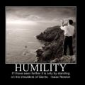 humility brings success