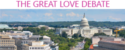 great love debate washington dc